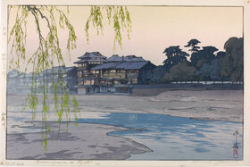 Yoshida Hiroshi: Kamogawa in Kyoto