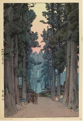 Yoshida Hiroshi: Cryptomeria Avenue