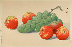 Yoshida Hiroshi: Grapes and Apples (Budo to ringo)