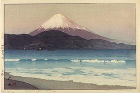 Yoshida Hiroshi: Fujiyama from Miho