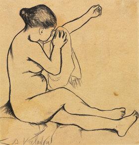 Suzanne Valadon: Seated Female Nude