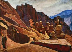 Nikolai Konstantinow Roerich: Kloster der Bonpo-Lamas in Tibet
