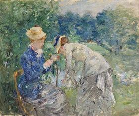 Berthe Morisot: Im Bois de Boulogne
