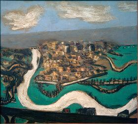 Max Beckmann: Landschaft bei Saint-Germain