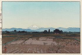 Yoshida Hiroshi: Fuji from Musashino