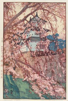 Yoshida Hiroshi: Das Schloss von Hirosaki