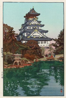 Yoshida Hiroshi: Das Schloss von Ôsaka