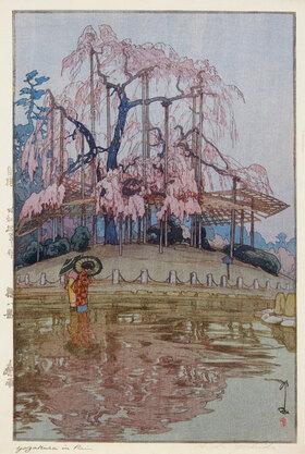 Yoshida Hiroshi: Frühlingsregen