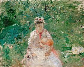 Berthe Morisot: Amme mit Kind (Julie Manet)