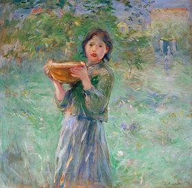 Berthe Morisot: Die Milchschüssel
