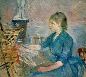 Berthe Morisot: Paule Gobillard malend
