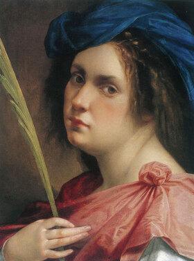 Artemisia Gentileschi: Self-Portrait as Saint Catherine of Alexandria, c