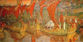 Nikolai Konstantinow Roerich: Wladimirs Reise nach Korsun