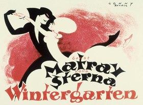 Wintergarten-Kabarett Berlin / Plakat