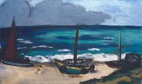 Max Beckmann: Aufziehendes Gewitter am Meer