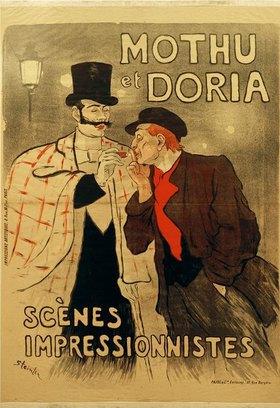 Théophile-Alexandre Steinlen: Mothu et Doria