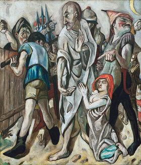 Max Beckmann: Christus und die Ehebrecherin