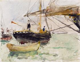 Berthe Morisot: Before a Yacht