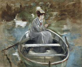 Eva Gonzales: En bateau
