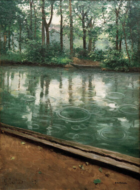 Gustave Caillebotte: L'Yerres, effet de pluie