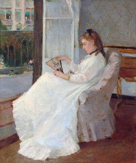 Berthe Morisot: The Artist's Sister at a Window