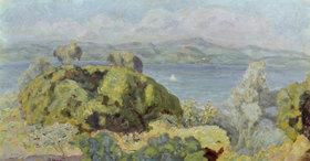 Pierre Bonnard: Landschaft oder Windiges schönes Wetter