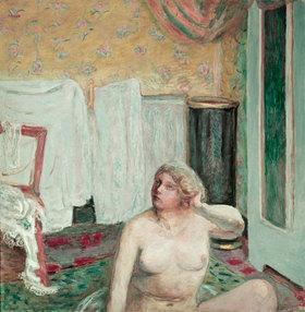 Pierre Bonnard: Der Morgen, Akt