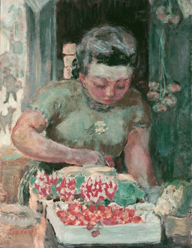 Pierre Bonnard: Die Obsthändlerin