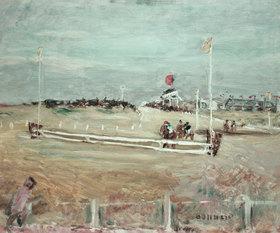 Pierre Bonnard: Pferderennen in Boulogne