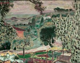 Pierre Bonnard: Landschaft von Le Cannet