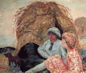 Pierre Bonnard: Der Heuhaufen