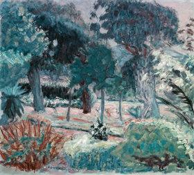 Pierre Bonnard: Le jardin dans Le Var (Saint-Tropez, la Villa Joséphine)
