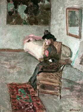 Pierre Bonnard: Die Frau mit der Rose