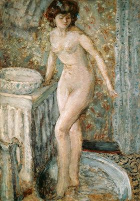 Pierre Bonnard: Akt bei der Toilette