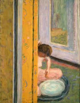 Pierre Bonnard: Akt mit gelbem Vorhang