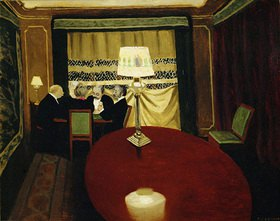 Felix Vallotton: Le Poker