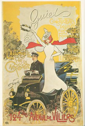 Werbung für elektrisch angetriebene Automobile