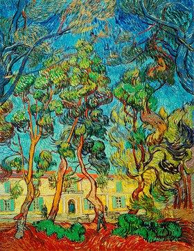 Vincent van Gogh: Heilanstalt in Saint-Rémy