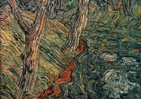 Christian Rohlfs: Bäume am Flußufer