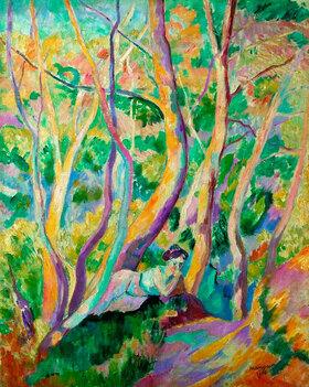 Henri Manguin: Woman in a wood