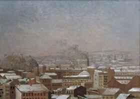 Gustave Caillebotte: Paris sous la neige