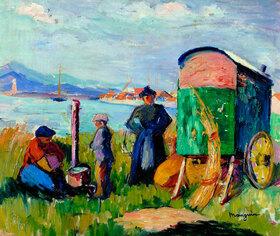 Henri Manguin: The gipsies?caravan