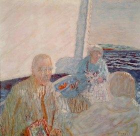 Auf dem Segelboot
