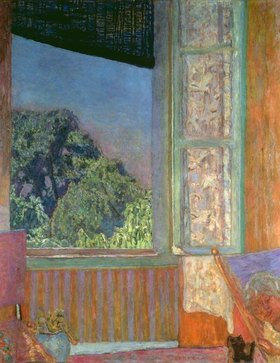 Pierre Bonnard: Bonnard, Pierre 1867?1947.?The open Window?, 1921.Oil on canvas, 118 × 96cm.Washington, Phillips Collection
