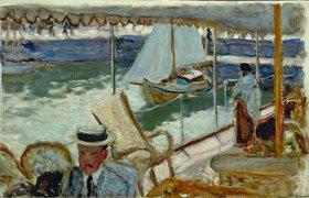 Pierre Bonnard: Auf einer Yacht