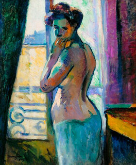 Henri Manguin: Am Fenster in der Rue Boursault