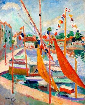 Henri Manguin: 14. Juli in St. Tropez