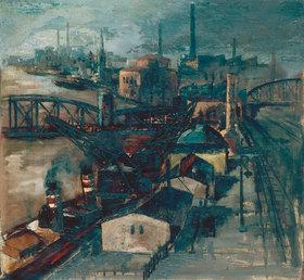 Herbert Stockmann: Fabriklandschaft