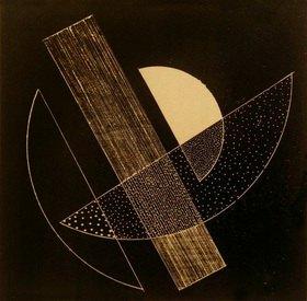 László Moholy-Nagy: Ohne Titel (Konstruktivistische Komposition)