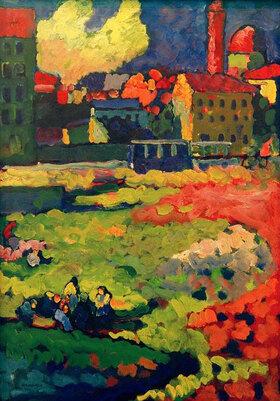 Wassily Kandinsky: München - Vor der Stadt